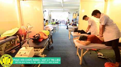 phục hồi chức năng vật lý trị liệu hữu nhân