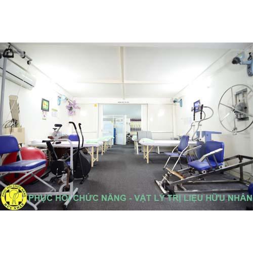 Không gian phòng khám Phục hồi chức năng Vật lý trị liệu Hữu Nhân