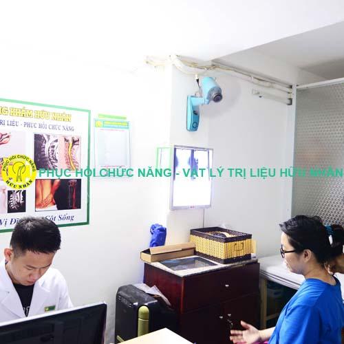 Tư vấn khám bệnh miễn phí tại Phục hồi chức năng Vật lý trị liệu Hữu Nhân