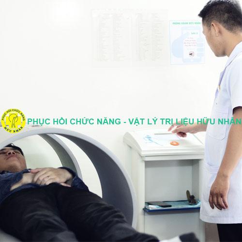 Máy từ trường toàn thân tại Phục hồi chức năng Vật lý trị liệu Hữu Nhân