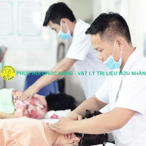 Nhân viên kỹ thuật cao tại Phục hồi chức năng Vật lý trị liệu Hữu Nhân